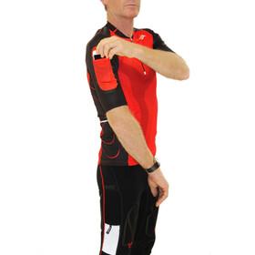 KiWAMi Equilibrium - T-shirt course à pied - rouge/noir